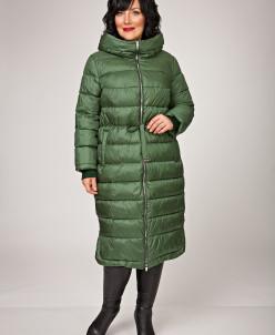 """Пальто """"Кларанс"""" зеленое"""
