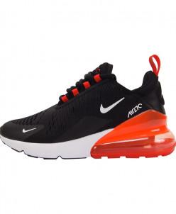 Кроссовки Nike Air Max 270 Black Red арт 943-3