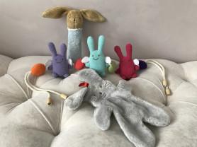 Мягкие игрушки французской фирмы Trousselier, 0+