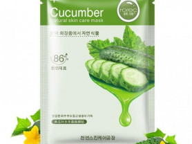 Тканевая маска для лица Rorec Cucumber Natural Ski