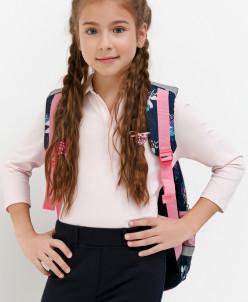 Джемпер детский для девочек Luga светло-розовый