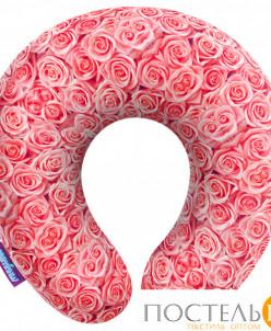 Подушка под шею «Чайные розы» (H2929C1701A005OR, 29х29, Оран