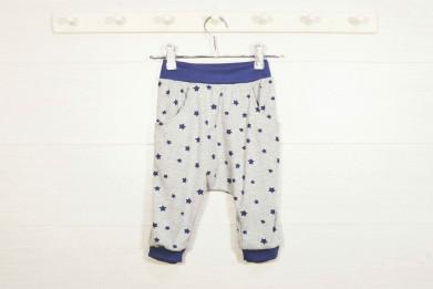 """Ползунки-брюки под памперсы """"Синие звездочки"""""""