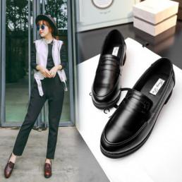Классические женские классические туфли 007, гладкая кожа