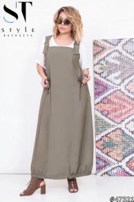 Комплект двойка 47321 (блузка+ сарафан)