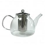 """Чайник """"Мальва"""" из жаропрочного стекла 1200 мл."""