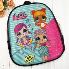 Рюкзак дошкольный  Куколки 32х28х8см