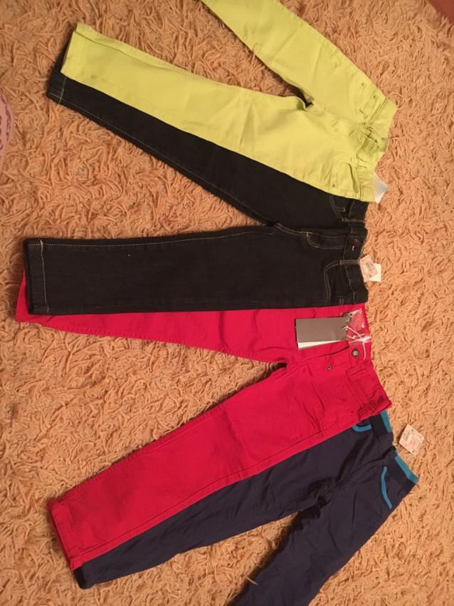 Разные брюки на стройного ребёнка