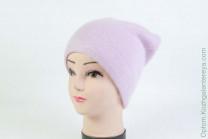 Женская шапка H9509-1A (ангора) Розовая