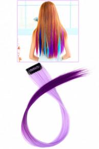 Цветные пряди для волос на заколках