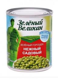 """Горошек """"ЗЕЛЕНЫЙ ВЕЛИКАН"""",240 г"""