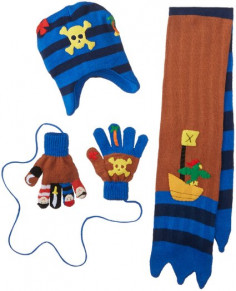 Despicable Me Little Boys' Pirate Minion Laplander and Glove