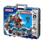 Meccano-Erector - Super Construction Set, 25 Models, 640+