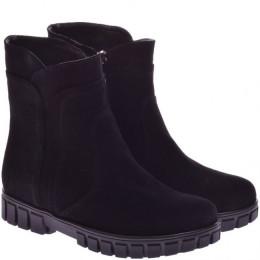 Подростковые замшевые ботинки (байка/экомех/цигейка)
