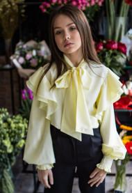 """Школьная блузка для девочки """"SH-102 """""""