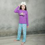 Пижама джемпер-брюки ANGRY BIRDS д/девочки Р.28-38
