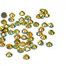 Стразы IDEAL клеевые арт.SS- 6 (1,9-2,1 мм) цв. AB JET упак.