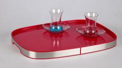 Поднос (Prima Nova) М-Е08-01, красный