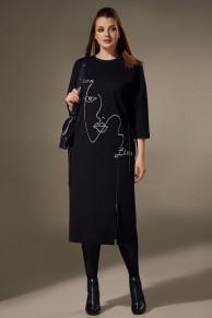 платье Andrea Style Артикул: 00309 чёрный