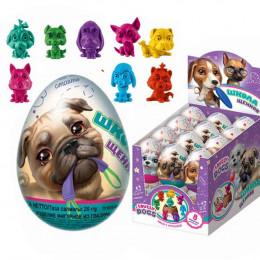 «Школа щенков» шоколадные яйца
