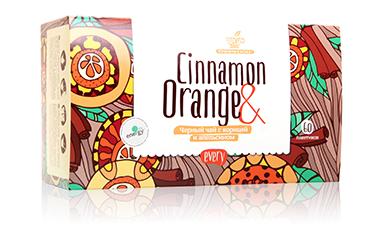 Черный чай с корицей и апельсином Every Cinnamon&Orange 60шт