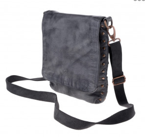 Кожаная сумка DuDu Bags Timeless Bag  черная