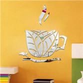 Акриловое зеркало Чашка чая