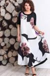 Платья Модель 359 черно-белый Мублиз      Производитель: Муб