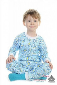Пижама детская 002 (кулирка) бол/размеры