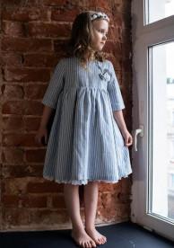 """Платье для девочки """"Полоска-2"""""""
