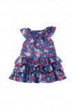 Платье UD 6439 син/малина