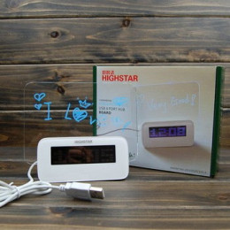 Часы электронные HIGHSTAR HSD1140A LED c панелью для рисован