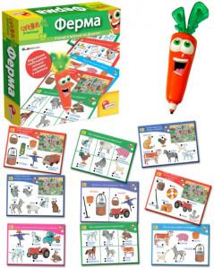 Обучающая игра Цифры с интерактивной морковкой