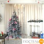 Фотошторы габардин 150*260, 2 полотна Новогодняя коллекция 1