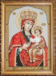 Черниговская Богоматерь - гобеленовая икона