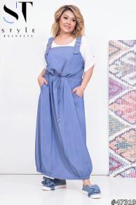 Комплект двойка 47319 (блузка+ сарафан)