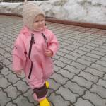 Непромокаемый комбинезон Мадди-Бадди(розовый)