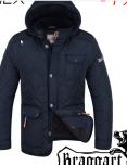 Куртки стеганые элитные мужские 2703 темно-синий (6