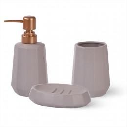9511 FISSMAN Дозатор для жидкого мыла 300мл, стакан 400мл и