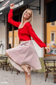 Актуальная расклешенная юбка