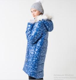 Пальто зимнее девочка Крокид CUBBY by Crockid зима 19-20