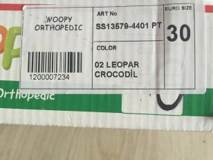 Ботиночки Вуппи ортопедия размер 30 б/у в идеале