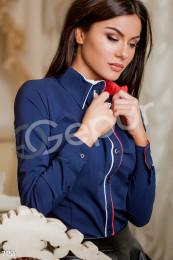 Классическая котоновая рубашка