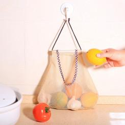 Мешок-сетка для хранения овощей, БЕЖЕВАЯ