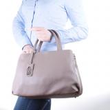 Женская классическая сумка натуральная кожа