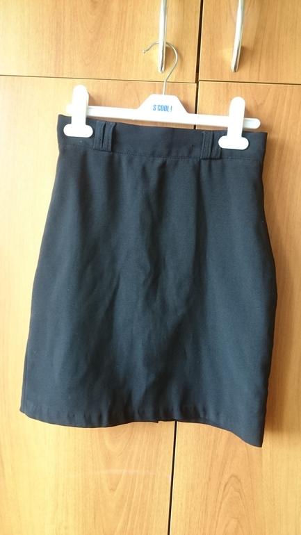 юбка синяя для первого класса