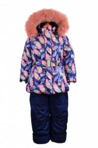 10-0298 Зимний комплект для девочки