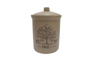 Банка для сыпучих продуктов маленькая Дерево жизни Terracott