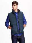 Frost-Free Quilted Vest for Men
