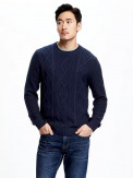 Cable-Knit Sweater for Men
